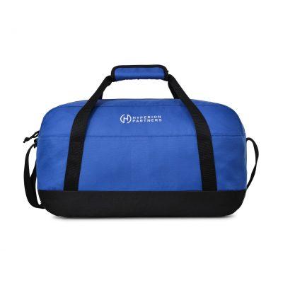 Royal Blue Alder Small Duffel Bag