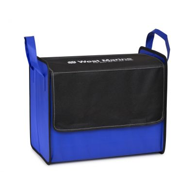 Royal Blue Cooper Cargo Box w/Closure