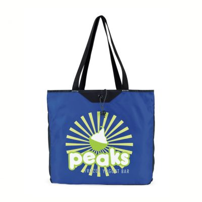 Royal Blue Express Packable Tote Bag
