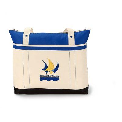 Royal Blue Windjammer Tote Bag