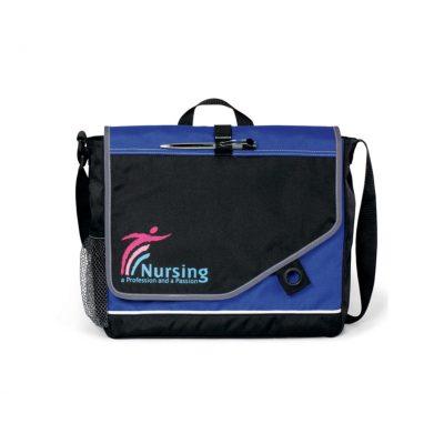 Royal Blue/Black Attune Messenger Bag II