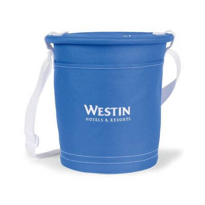 Royal Blue/White Sandbar Insulated Party Pail