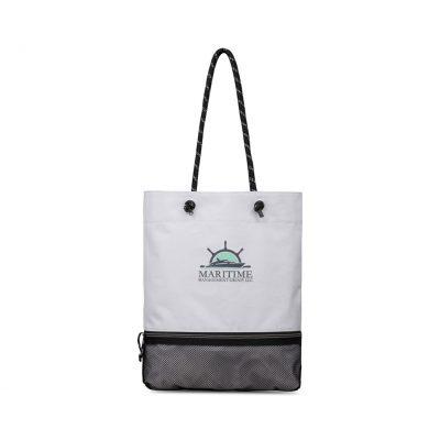 White Westport Tote Bag