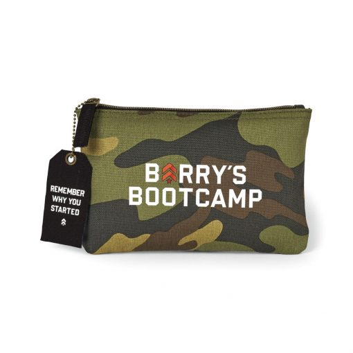 Avery Cotton Zippered Pouch - Classic Camo