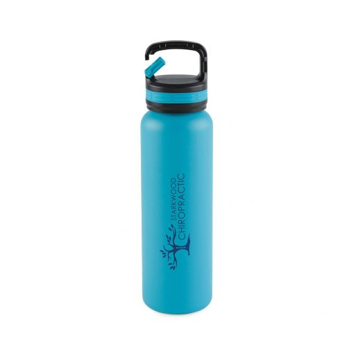Aviana™ Cypress Double Wall Stainless Bottle - 20 Oz. - Aqua