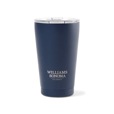 Aviana™ Peak Double Wall Stainless Tumbler - 16 Oz. - Matte Navy