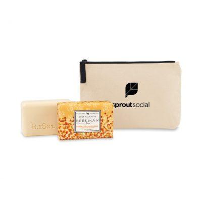 Beekman 1802 Farm to Skin Bar Soap Gift Set - Natural-Honey & Orange Blossom