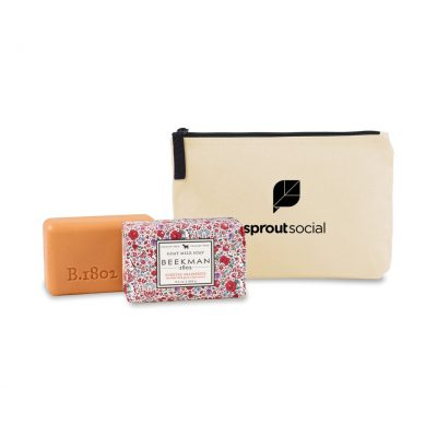 Beekman 1802 Farm to Skin Bar Soap Gift Set - Natural-Honeyed Grapefruit