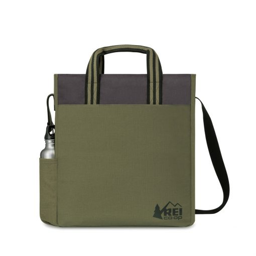Charlie Cotton Tote - Deep Forest Green