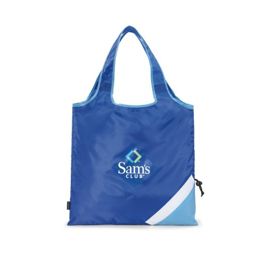 Latitudes Foldaway Shopper - Royal Blue