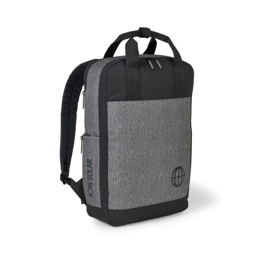 Logan Computer Backpack - Granite Heather Grey
