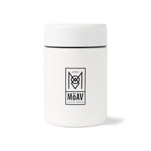 MiiR® Coffee Canister - 12 Oz. - White Powder