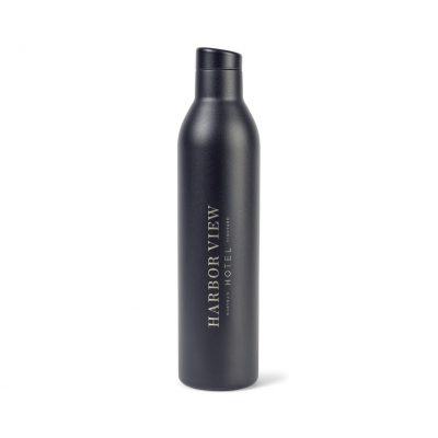 MiiR® Vacuum Insulated Wine Bottle - 25 Oz. - Black Powder