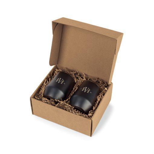MiiR® Wine Tumbler Gift Set - Black Powder