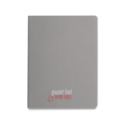 Moleskine® Cahier Ruled X-Large Journal - Pebble Grey