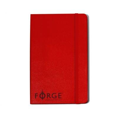 Moleskine® Hard Cover Ruled Large Notebook - Scarlet Red