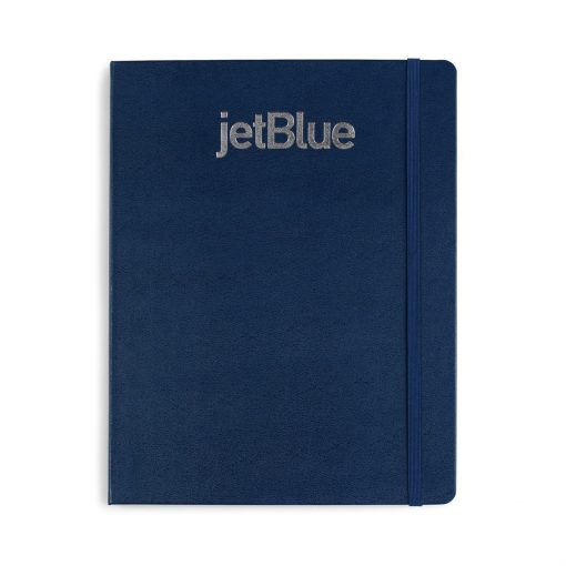 Moleskine® Hard Cover Ruled X-Large Notebook - Navy Blue