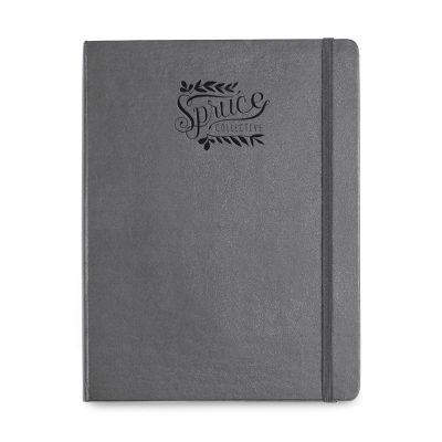 Moleskine® Hard Cover Ruled X-Large Notebook - Slate Grey