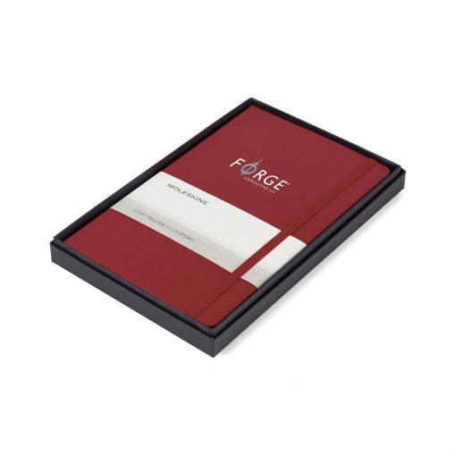 Moleskine® Large Notebook Gift Set - Scarlet Red