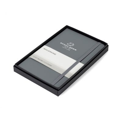 Moleskine® Medium Notebook Gift Set - Slate Grey