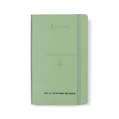 Moleskine® Passion Journal - Wellness - Willow Green