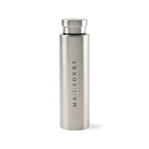 Napa Double Wall Stainless Wine Canteen - 25 Oz. - Stainless Steel