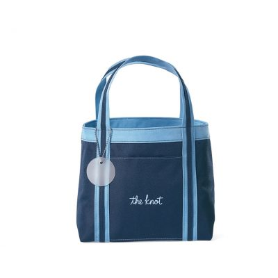 Piccolo Mini Tote - Navy-Sky Blue