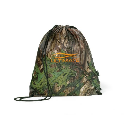 Riley Patterned Cinchpack - Forest Camo