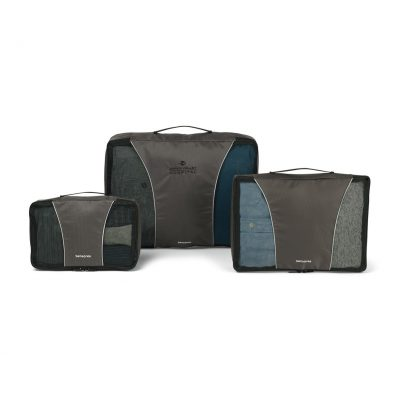 Samsonite 3 Piece Packing Cube Set - Charcoal