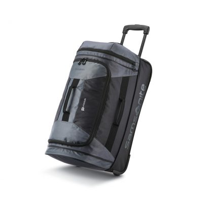 "Samsonite Andante 2 22"" Wheeled Duffel - Riverrock-Black"