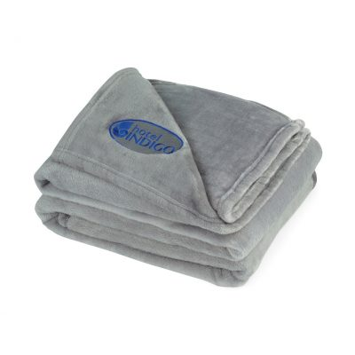 Serenity Plush Throw - Grey