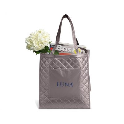 SoHo Shopper - Metallic Silver