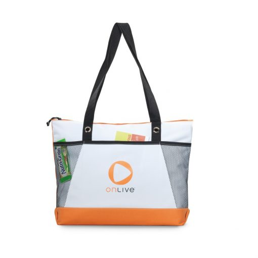 Venture Convention Tote - Tangerine Orange