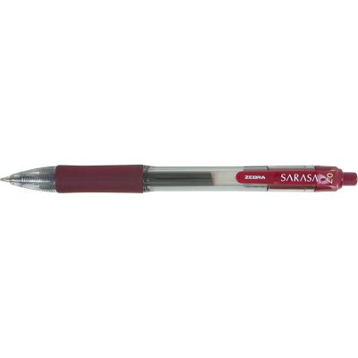 Zebra® Sarasa Dry X20 Gel Retractable Pen - Mahogany