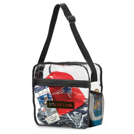Clear Event Zippered Tote - Clear