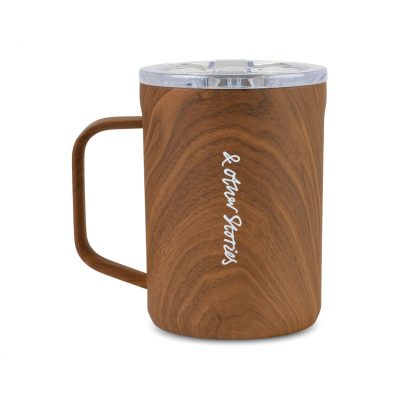 Corkcicle® Coffee Mug - 16 oz. - Walnut