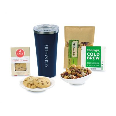 Corkcicle® Welcoming Wonder Tumbler Gift Box - Gloss Navy