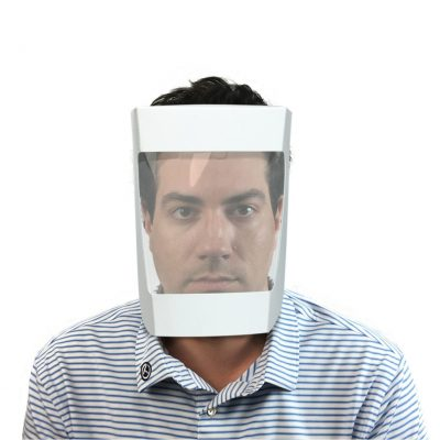 Disposable Face Shield - White