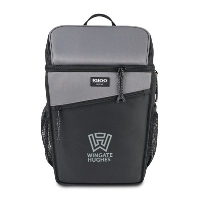 Igloo® Juneau Backpack Cooler - Deep Fog