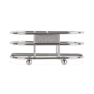 Beekman 1802 Soap Caddy - Chrome Plated Metal