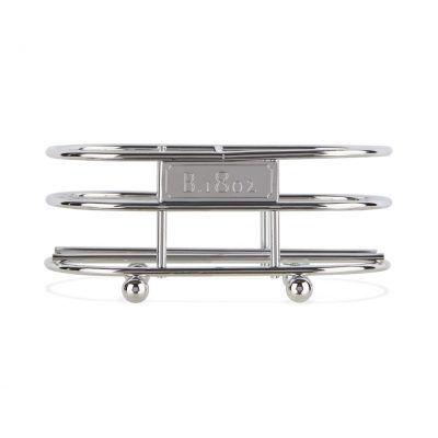 Beekman 1802® Soap Caddy - Chrome Plated Metal