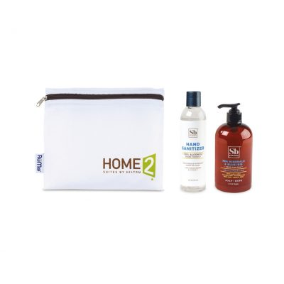 Soapbox™ Hand Soap & Sanitizer Care Pack - Black-Sea Minerals & Blue Iris