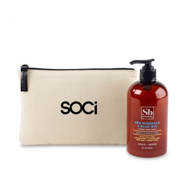 Soapbox™ Healthy Hands Gift Set - Natural-Sea Minerals & Blue Iris