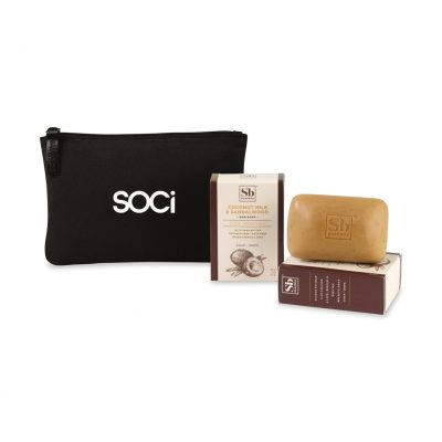 Soapbox™ Nourish & Restore Gift Set - Black-Coconut Milk & Sandalwood