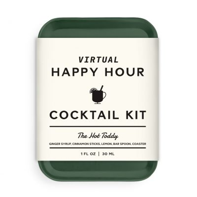 W&P Virtual Happy Hour Cocktail Kit - Hot Toddy - Dark Green