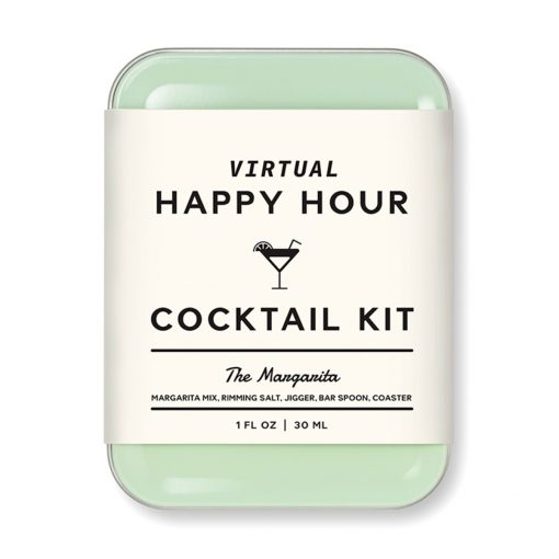 W&P Virtual Happy Hour Cocktail Kit - Margarita - Light Green