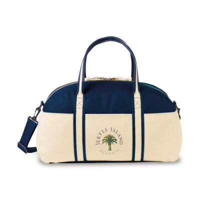 Nantucket Cotton Weekender Bag - Navy