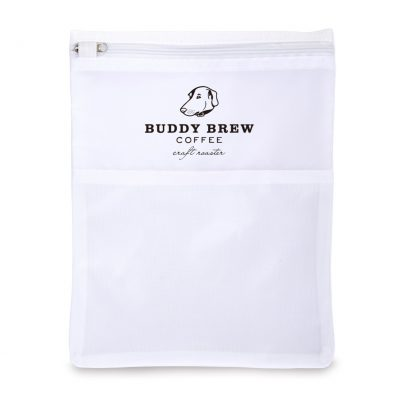 Reusable Face Mask Wash Bag - White