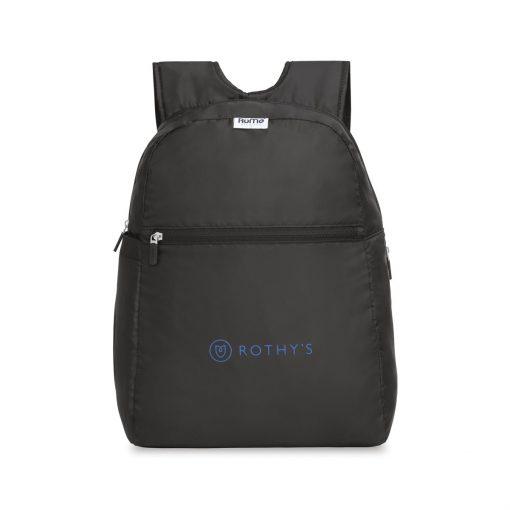 RuMe® Recycled Backpack - Black