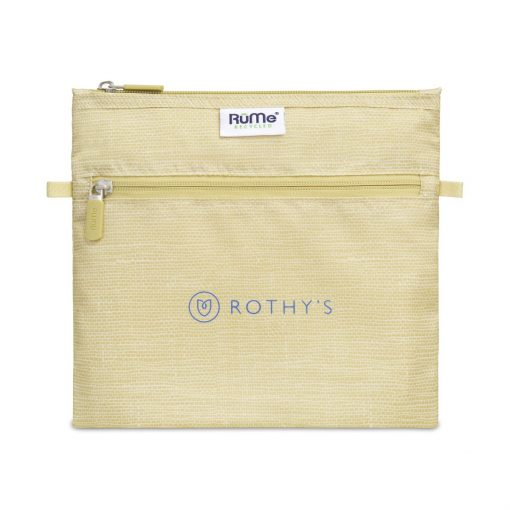RuMe® Recycled Pouch - Burlap